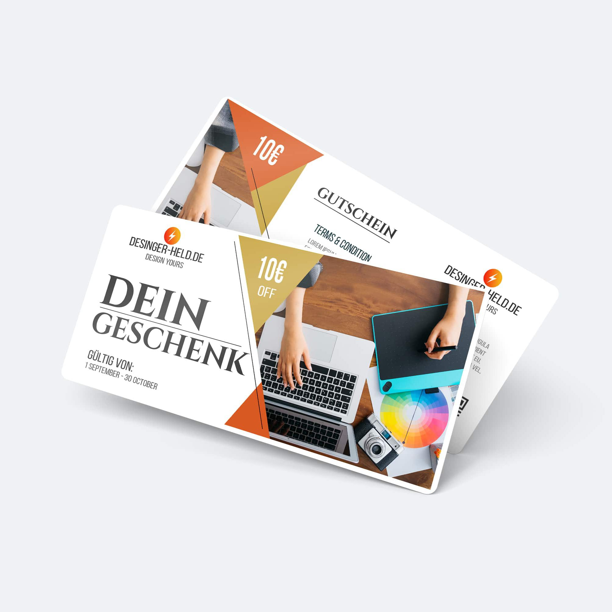 Gutschein-Design