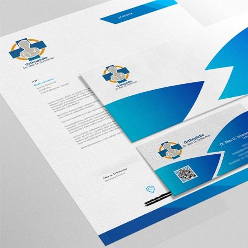 Briefbogen-Design
