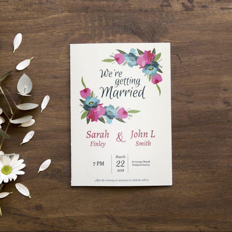 Einladungskarten-Design