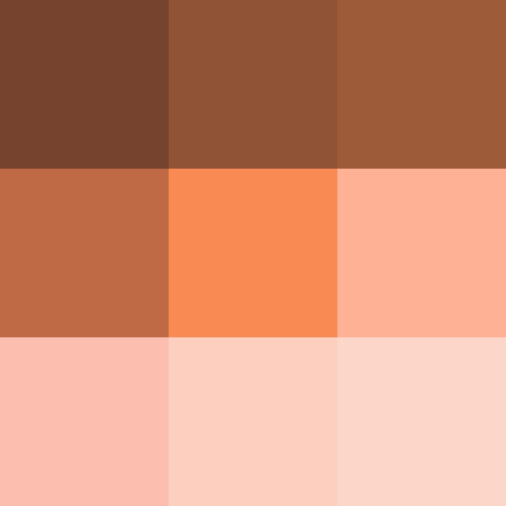 Orangetöne